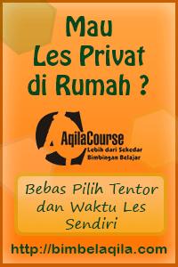 bimbingan belajar aqila course